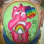 Care bear baby bump