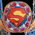Superman bump art