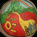 emerald city bump painting