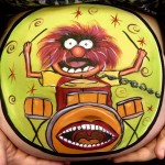 The muppets bump painting