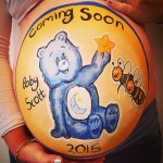 belly painting pregnancy art