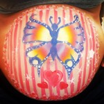 Bump painting butterfly