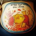 winnie the pooh bump paint